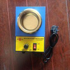 Lead Free Soldering Solder Melting Tin Pot 80mm Diameter 250W AC 220V