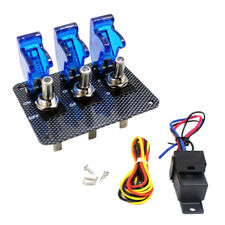 CAR RACING TOGGLE SWITCH PANEL PUSH BUTTON START STARTER 12V IGNITION ISOLATOR