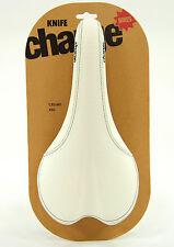 Charge Bikes Knife Saddle White CrMo Rails