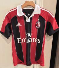 2012 Adidas Ac Milan Soccer Football Jersey Mattia De Sciglio Youth Large