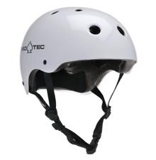 Pro-Tec Classic Skateboard Skate Helmet - Gloss White - EXTRA LARGE