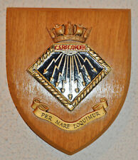 CS Recorder ward room shield plaque crest Merchant Navy MN cable ship