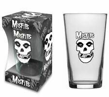 Misfits Skull Logo Beer Glass (rz)