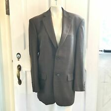 New listing Pendleton 100% Wool Elbow Patch Blazer Men'S 42R Brown Red Green Fully lined