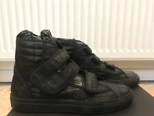 RARE RAF SIMONS SNEAKERS size 41 Croco Stamp leather