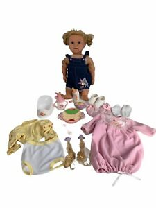 Love and Grow Suzie Doll Interactive talking with accessories