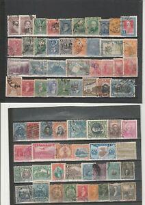 Briefmarkenlot  Süd Amerika  O / X  siehe Scan  / Lot  7132
