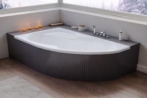 Badewanne The North Bath ALICE Wanne 150/160/170x100 Ablauf mit/ohne Träger