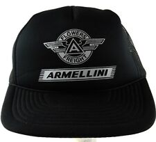 Flowers Freight Armellini Snapback Adjustable Trucker Style Mesh Hat Cap Black