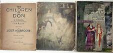 Cauldron of Annwyn Trilogy, Holbrooke & Ellis, 1910,1912, 1922 Operas Mabinogion