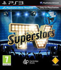 TV Superstars Move Compatible PS3 Sony PlayStation 3 Video Game Microsoft