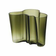 Iittala Aalto Vase moosgrün 16cm
