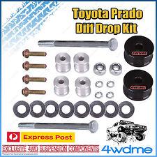 "Toyota Prado 150 Series Front Direct Bolt In Diff Drop Kit suit STD 2"" - 3"" Lift"