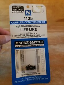 N Scale Micro Trains Coupler Conversion kit 1135 New