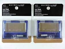 2x Maybelline Ultra-Brow Powder 10 Light Brown Eyebrow Color Makeup 402 New