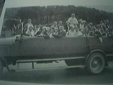 book picture reprint 1930s - charabanc holiday trip england