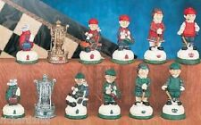 Chess Set Pieces Sports Golf Players NEW