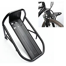 Black New Cycling Bike Bicycle Aluminum Alloy Front Rack Panniers Bag Bracket