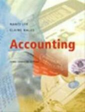 Accounting Paperback Elaine Hales