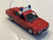 "BMW 528i E28 Red Fire ""Feuewehr RUF 112"" 1:43 scale model # 82 22 9 406 346"