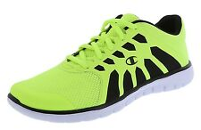 CHAMPION MENS GUSTO RUNNER SIZES 7 TO 15 WHITE BLUE GREEN BLACK GRAY MEMORY FOAM