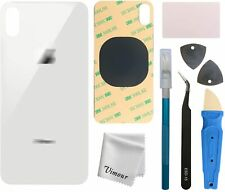 White Back Glass Replacement iPhone X 5.8 Inches All Carriers with Repair Tools