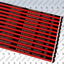 STAEDTLER Tradition 4B Pencil School Artist Crafts Drawing Sketching 12 Pencils