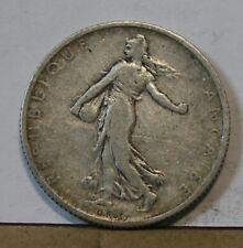 Monnaie france argent silver 2 francs 1905 semeuse de roty