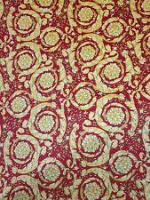 Fabulous Versace Baroque 137cm Continuous Pattern Fabric