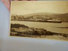 More details for postcard  p8g26  lochboisdale  south uist   tuck proof  sample