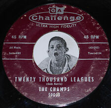 COOL Instrumental 45~The Champs~Twenty Thousand Leagues / Too Much~Challenge