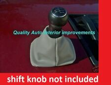 NEW 1998 to 2010 VW VOLKSWAGEN BEETLE GREY gray GEAR shifter SHIFT BOOT cover