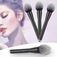 Soft Beauty Powder Large Big Blush Flame Brush Foundation Make Up Tool Cosmetic
