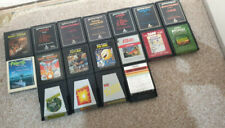 Atari 2600 Games Pifall, Outlaw, Frogger, Reactor, Pac-Man, Space Invaders