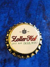 Kronkorken/Bottle Cap/Tappi/Capsula - Brauerei Zoller Hof -Sigmaringen -Neu