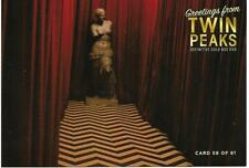 "TWIN PEAKS GOLD DVD BOX POSTCARD #59 ""THE BLACK LODGE POST CARD"