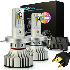 JDM ASTAR 7G 8000LM H4/9003 HB2 LED Headlight High Low Dual Beam DRL Bulbs White