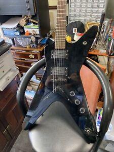 DEAN ML X Black 6 String Electric Guitar
