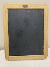 Vintage Roseart Double-Sided Slate Chalkboard Wood Frame Kitchen Menu Board