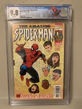 Amazing Spider-Man V2 #1 CGC 9.8 Custom Limited NY Label