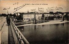 CPA Muret - Pont et Bords de la Garonne (255913)