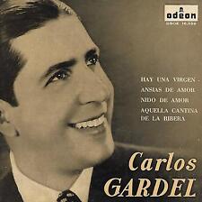 CARLOS GARDEL EP Spain 1963 Hay una Virgen +3