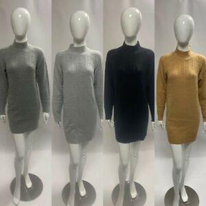 Dorothy Perkins Jumper Dress Camel Black Grey Size 6 8 10 12 14 16 18 20 RRP £28