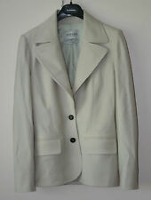 Yves Saint Laurent Rive Gauche Off White Jacket Blazer w Two Dark Buttons