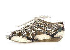 Womens MIA Snake Print Flats Shoes Sandals Sz. 6 NEW!