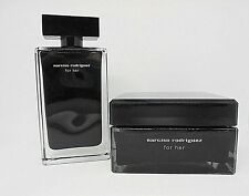 Narciso Rodriguez For Her Edt Spray And Her Body Cream ~ 3.3 Oz. & 5.2 Oz. BNIB
