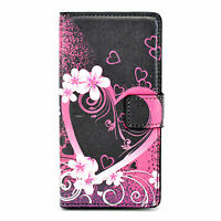 Wallet Card Holder Magnetic Leather Phone Case Cover Fits For Many Mobile Phones