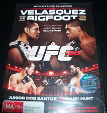 UFC Velasquez Vs Bigfoot 2 (Junior Ross Vs Mark H)(Australia Region 4) 2 DVD New