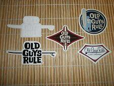 5 Old Guys Rule Surf Surfing Surfboards Surfboard Longboard Fin Beach Sticker