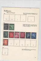 yugoslavia 1934 used stamps  ref 10539